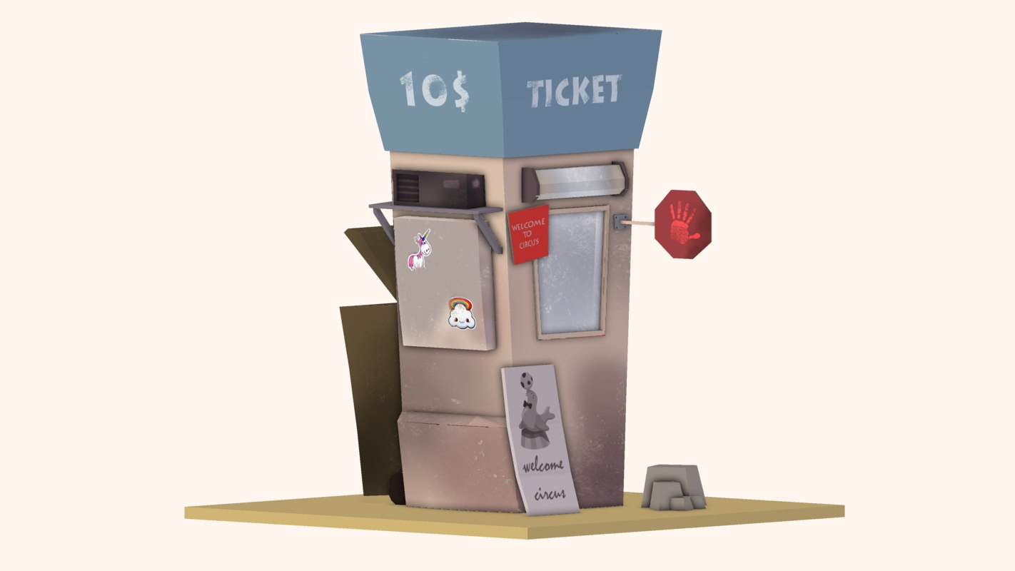 circus ticket office model