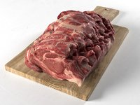 3D meat chopping board