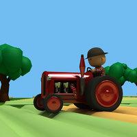 tractor man model