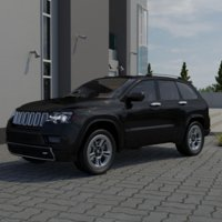 3D cherokee jeep