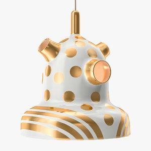 bosa scuba d lamps 3D model