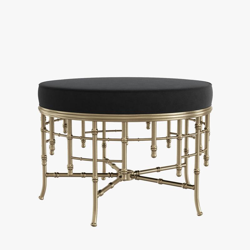 3D stool alessia l model