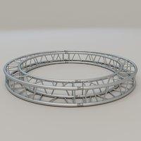 square circular truss 3D