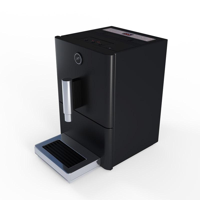 modern coffee machine 3D model