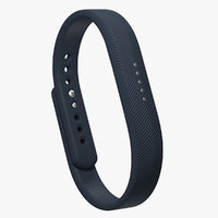 fitbit flex 2 3D model