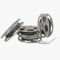 3D movie reels model