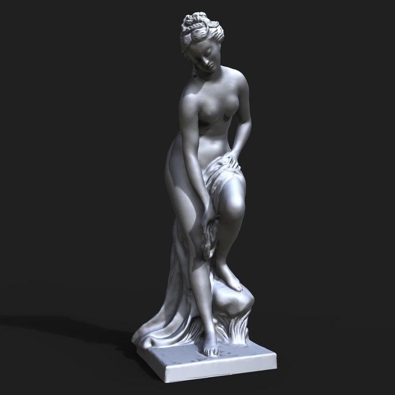 3D bather called venus model