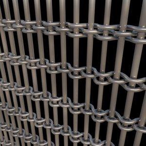 metal panel 3D model