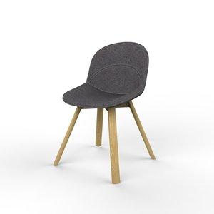 3D lunar chair