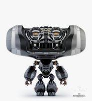 3D cute cutan model