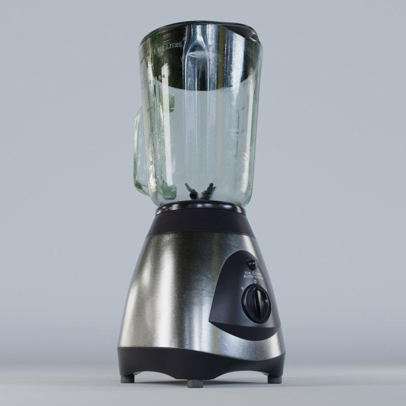 3D blender kitchen model