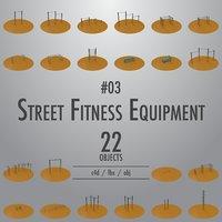 Street Fitness Equipment #03
