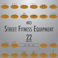 Street Fitness Equipment #03