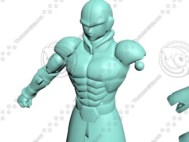hit dragon ball super 3D model
