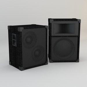 3D concert speakers