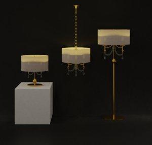3D lamps blender