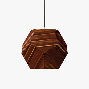 plantonic shade pendant lamp 3D model