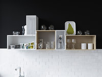 muuto kitchen mini stacked model
