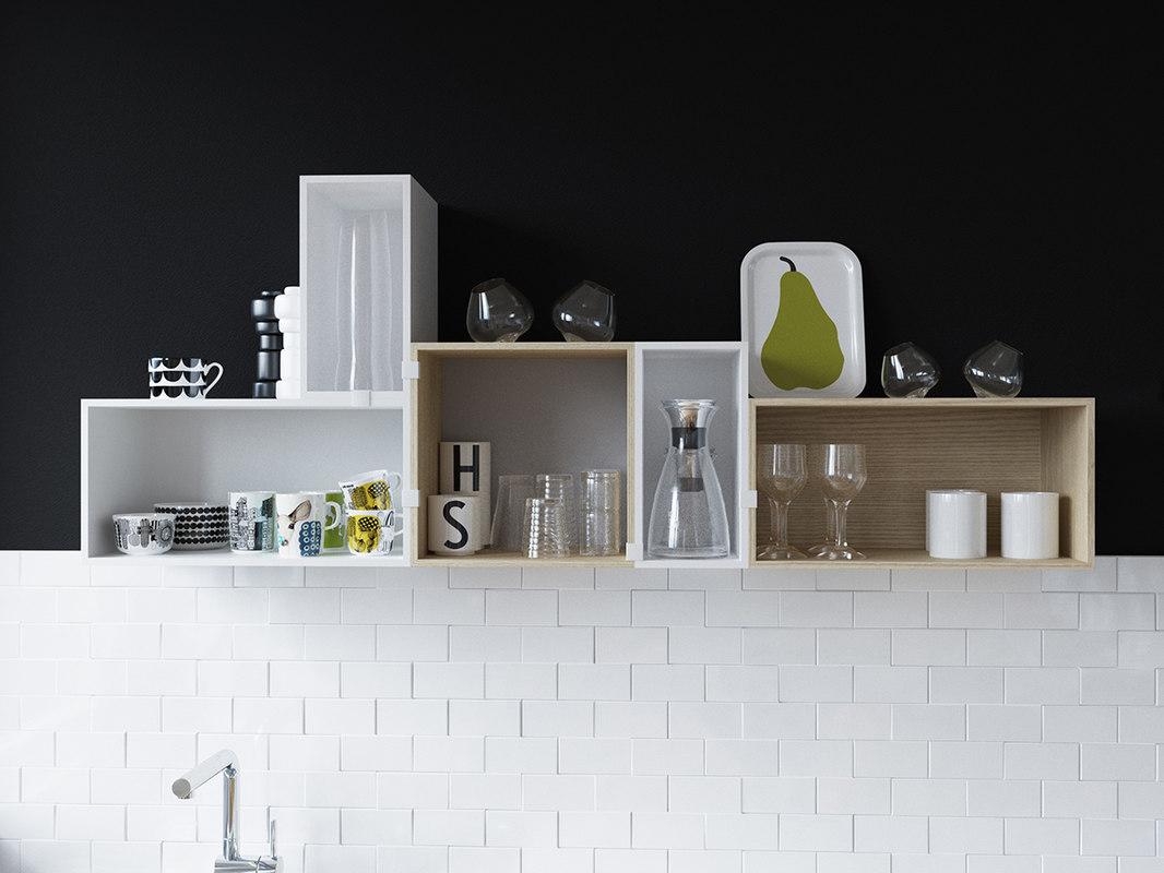 muuto kitchen mini stacked model