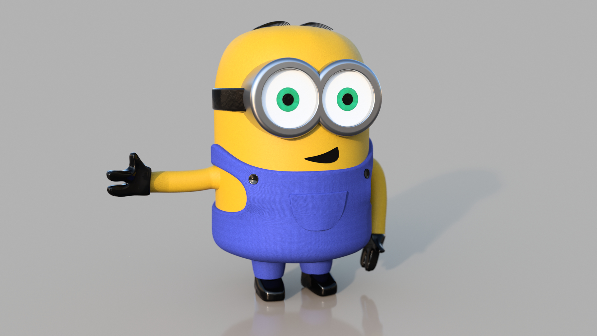 Minion Print Model Turbosquid 1219877