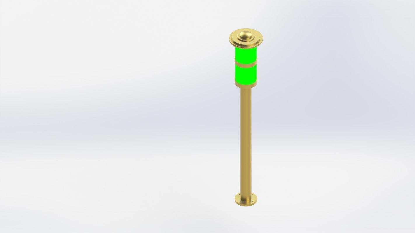 3D lamp park