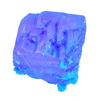 blue salt crystal 3D