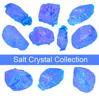 Blue Salt Crystal Collection