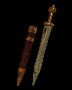 roman sword 3D model