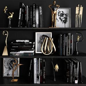 decorative set 19 3D model