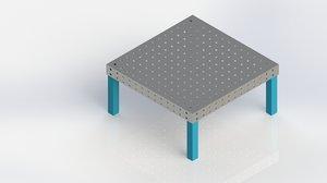 modelled metal decor 3D