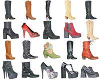 clothing 20 boots heels 3D model