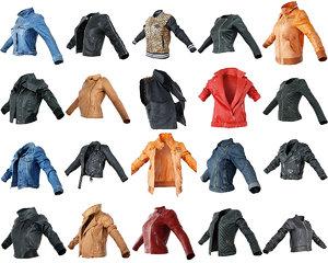 clothing 20 jackets model