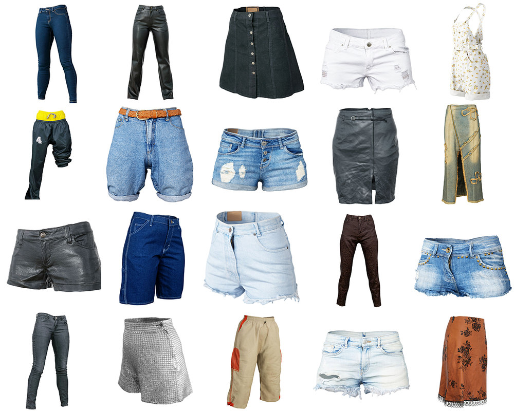 clothing 20 trousers 3D