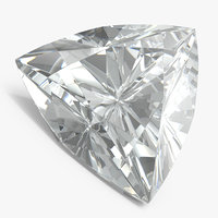 trillion cut diamond model