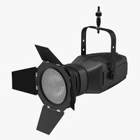 3D theatre stage light 01