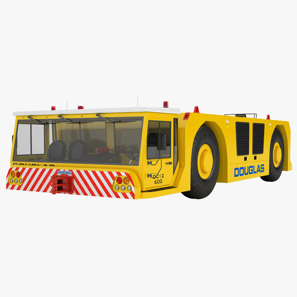 3D douglas dc12-600 model
