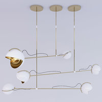 3D delightfulls laine suspension lamp