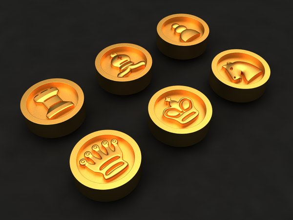 chess mold decor 3D model