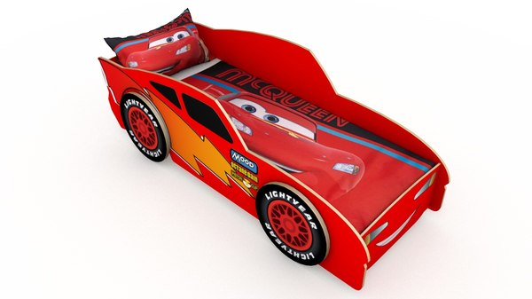 3D childrens bed model