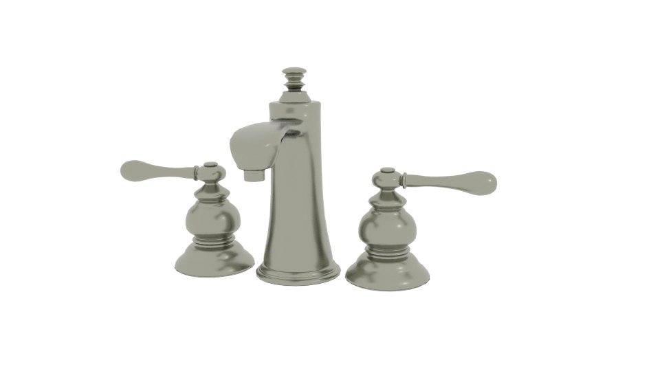 3D model product faucet