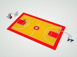 basket field model