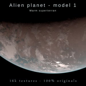 3D exoplanet planet