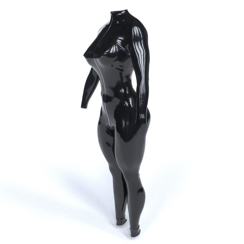 3D latex costume