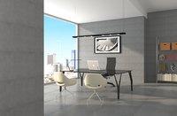 3D office scene boss model