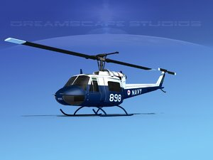 military bell uh-1b iroquois model