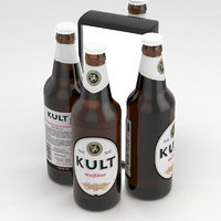 3D model beer bier weissbier