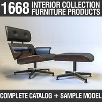 Furniture Collection - Catalog + Sample Model