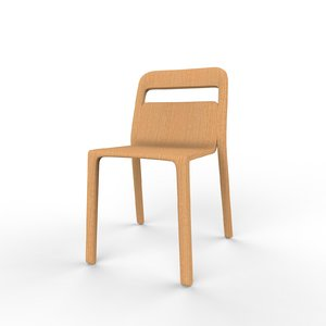 3D model home hollywood chair