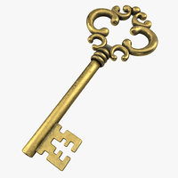 old key 3D