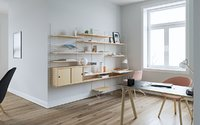 HAY Copenhague Tables String Shelf System-Maxtree 3D model